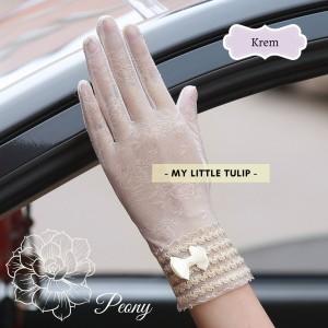 Harga sarung tangan pengantin wanita kualitas terbaik lace brokat renda pink   | HARGALOKA.COM