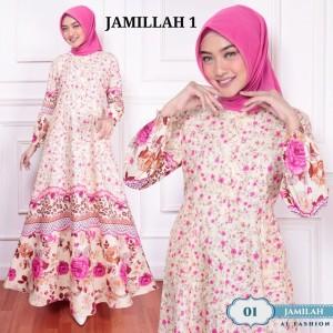 Harga dress kondangan muslim baju gamis syari murah terbaru wanita jumbo a20   1 | HARGALOKA.COM