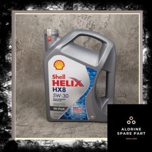 Harga oli shell helix hx 8 5w 40 4   HARGALOKA.COM