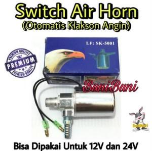 Harga otomatis klakson angin switch air horn mobil universal 12 v 24 | HARGALOKA.COM