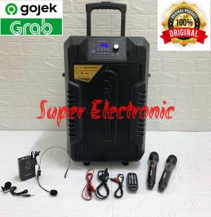 Harga speaker portable meeting hardwell 12 inch turbovoice 12 pro   HARGALOKA.COM