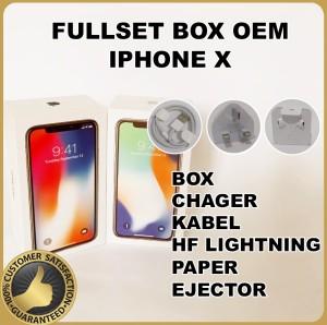 Harga fullset box dus iphone x oem 99 | HARGALOKA.COM
