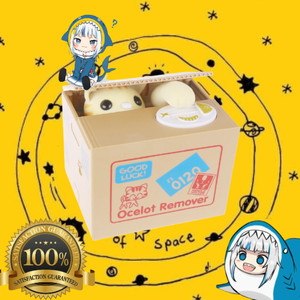Info Itazura Mischief Saving Box Cat Coin Bank Celengan Kucing Katalog.or.id
