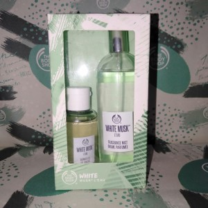 Harga the body shop white musk l 39 eau gift duo mist and shower gel | HARGALOKA.COM