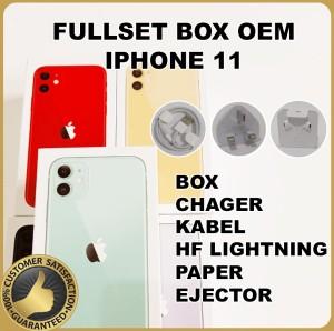 Harga fullset box dus iphone 11 oem 99 | HARGALOKA.COM