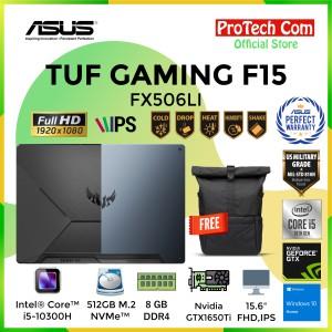 Harga asus tuf gaming f15 fx506li i5 10300h 8gb 512gb gtx1650ti 4gb w10 | HARGALOKA.COM