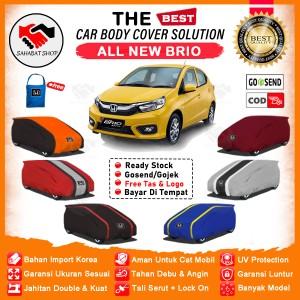 Harga body cover sarung mobil all new honda brio rs selimut brio lama baru   polos gambar | HARGALOKA.COM