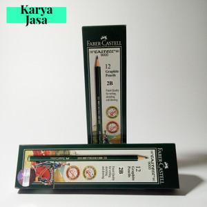 Harga faber castell pensil 2b pensil ujian pensil menggambar grosir   HARGALOKA.COM