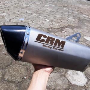 Harga silincer knalpot racing original crm | HARGALOKA.COM