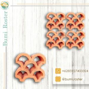 Harga loster tanah liat hexagon kipas murah gratis   HARGALOKA.COM