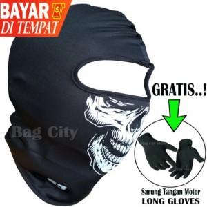 Info Masker Full Face Motor Motif Polos Katalog.or.id