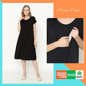 Harga baju hamil dress hamil menyusui maura | HARGALOKA.COM