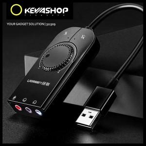 Harga ugreen external usb soundcard audio interface for laptop pc desktop     HARGALOKA.COM