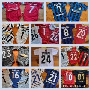 Harga baju bola bayi jumper bola bayi custom nama no | HARGALOKA.COM