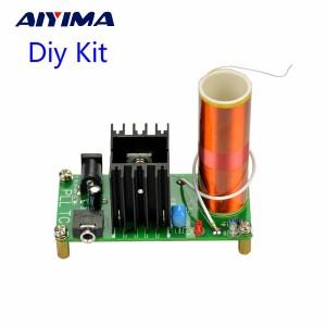 Harga aiyima diy mini music tesla coil plasma speaker kit 15w 15 24v   | HARGALOKA.COM