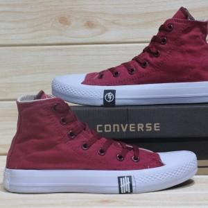 Harga sepatu converse undefeated high all star 70s chuck taylor original   maroon | HARGALOKA.COM