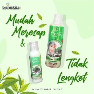 Harga body lotion pencerah kulit handbody greentea batrisyia herbal   | HARGALOKA.COM