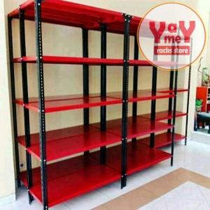Harga rak besi khusus pengiriman via gojek grab 40x100x200 4 | HARGALOKA.COM