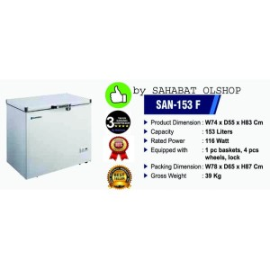 Harga sansio san 233f modifikasi chest freezer dan cooler termostat | HARGALOKA.COM