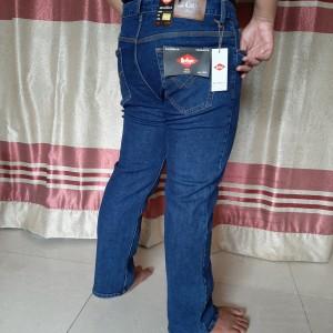 Harga celana jeans pria jumbo lee cooper 40 50   biru tua | HARGALOKA.COM