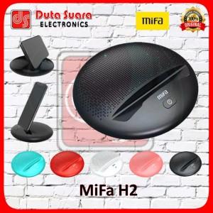 Harga mifa h2 bluetooth speaker portable stereo bracket for mobile   hitam tanpa   HARGALOKA.COM