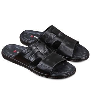 Harga sandal pria zeintin ck 0567 hitam   hitam | HARGALOKA.COM