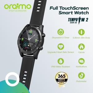 Harga oraimo smart watch jam tangan pintar full touch screen slim   HARGALOKA.COM