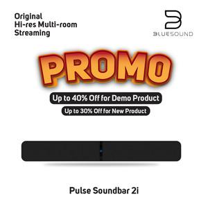 Harga bluesound pulse soundbar 2i music streaming | HARGALOKA.COM