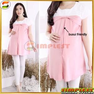 Harga blus hamil amp menyusui blouse ibu hamil kekinian dian bahan rayon   | HARGALOKA.COM