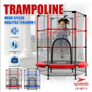 Harga trampoline untuk anak anak trampolin lompat olahraga original 067 3   | HARGALOKA.COM