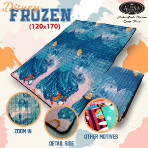 Harga karpet quilting motif frozen karpet karakter   HARGALOKA.COM