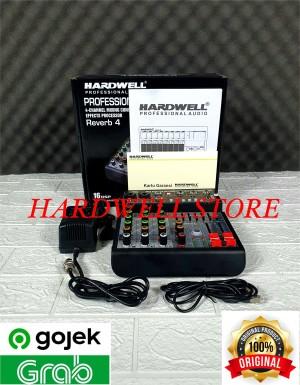 Harga mixer audio 4 channel hardwell reverb 4 original mixer recording to | HARGALOKA.COM