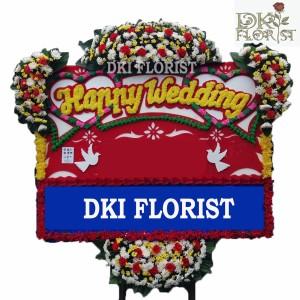 Harga karangan bunga happy wedding cong selamat amp sukses duka | HARGALOKA.COM