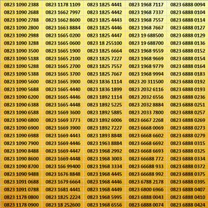 Harga nomor cantik kartu as 0823   0852   0853 murah meriah part | HARGALOKA.COM