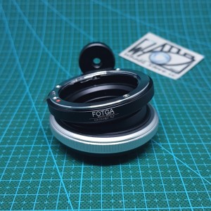 Harga fotga tilt lens adapter lensa nikon to nex sony e   HARGALOKA.COM