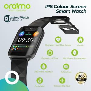 Harga oraimo smart watch jam tangan ips full touch screen ultra slim   HARGALOKA.COM