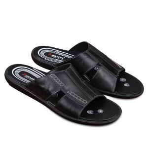 Harga sandal pria zeintin ck 0551 hitam   hitam | HARGALOKA.COM