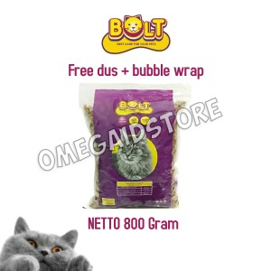 Harga makanan kucing bolt base care for your pet tuna flavour | HARGALOKA.COM