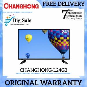 Harga led tv 24 inch changhong l24g3 usb movie hdmi hd | HARGALOKA.COM