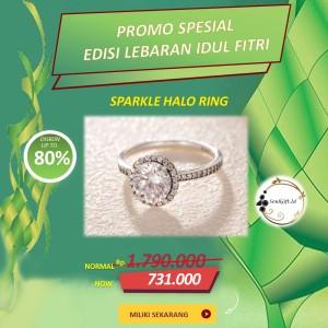 Harga pandora cincin i do lovers rings original 100   | HARGALOKA.COM