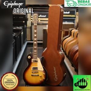 Harga elektrik gitar epiphone 1959 les paul standard outfit aged dark | HARGALOKA.COM