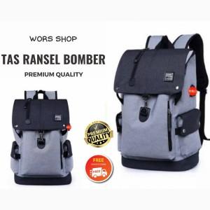 Harga tas ransel pria dan wanita bomber | HARGALOKA.COM