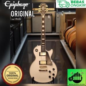 Harga gitar elektrik original epiphone les paul custom alphine | HARGALOKA.COM