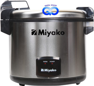 Harga magic com warmer miyako mcg 171 silver rice cooker jumbo 6 | HARGALOKA.COM