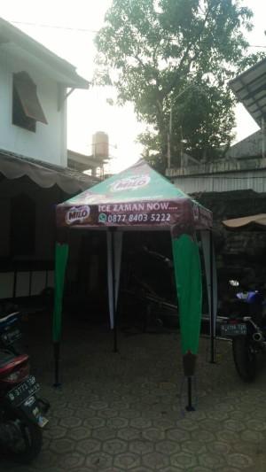 Harga tenda cafe 1 5x1 5 tenda jualan tenda piramid free sablon | HARGALOKA.COM