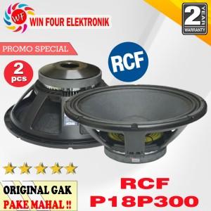 Harga 2 pcs speaker component rcf 18p300 18 34 isi 2 pcs | HARGALOKA.COM