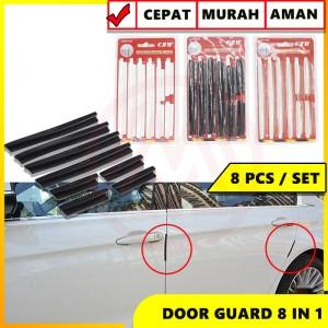 Harga door guard pelindung pintu mobil pengaman pintu mobil 8 in 1 inc 3m   | HARGALOKA.COM