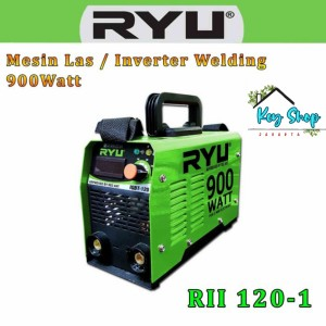 Harga mesin trafo las listrik 900watt inverter ryu igbt rii 120 1 by   HARGALOKA.COM