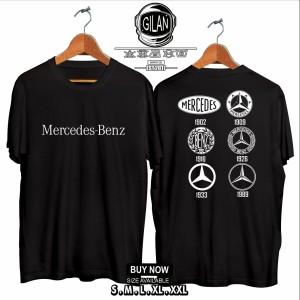Harga kaos baju mercedes benz logo history mobil kaos otomotif   gilan cloth     HARGALOKA.COM