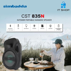 Harga simbadda portable karaoke speaker cst   HARGALOKA.COM